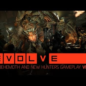 Check Out Evolves Behemoth And New Hunters In Action