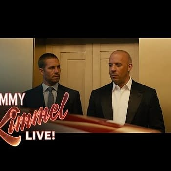 Its A Sea Of Bald Men &#8211 Vin Diesel Talks To Jimmy Kimmel About Furious 7