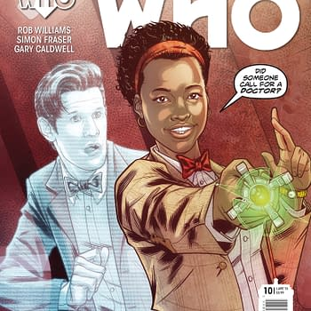 Doctor Who: The Eleventh Doctor #10 Art Preview From Titan Comics