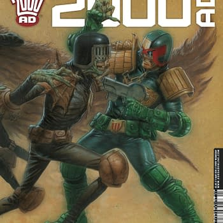Preview This Week's 2000AD – Judge Dredd, Survival Geeks, Savage: Grinders, The Order, Tharg's 3rillers