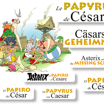 The Best Selling Comic Of 2015 Gets A Title &#8211 Asterix And The Missing Scroll