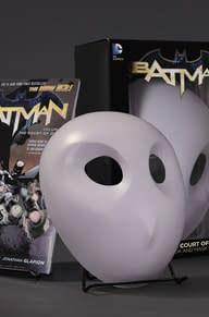 Win A Signed Batman: Court Of Owls Book And Mask Set