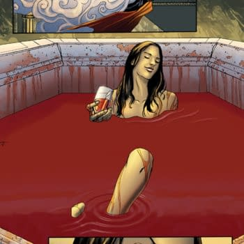 Blood Queen Vs Dracula #1 Writer's Commentary By Troy Brownfield