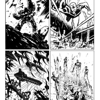 Grant Morrison's Art On Captain Victory And More