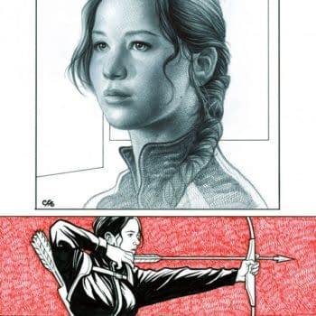 And Finally… Frank Cho Draws Jennifer Lawrence