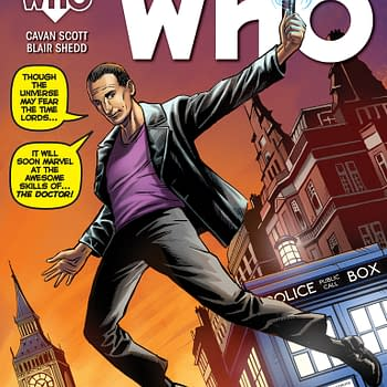 Cover Variance: Doctor Who Sheltered And Ninjak