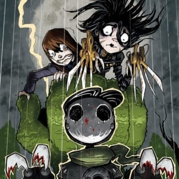 Edward Scissorhands #5 Is Set For A Bright Future
