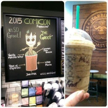 Starbucks Gets Into The Emerald City Mood With A Groot