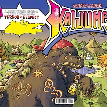 Two Time Eisner Winner Zander Cannons Kaijumax Is Impending In April