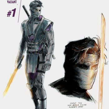 A Double Dose Of Matt Kindt From Valiant This Week – Ninjak #1 And Unity #16