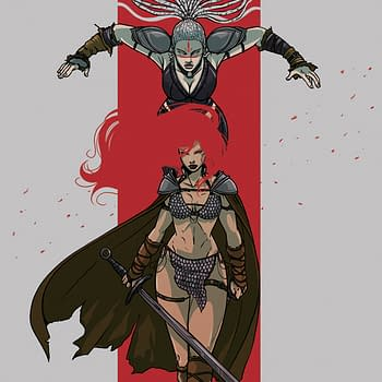 Emma Vieceli Covers Red Sonja For The First Time