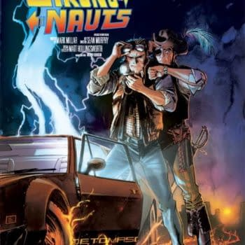 And Finally… The Chrononauts 'Back To The Future' Reprint Cover