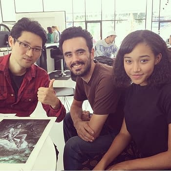 Sebastian, Amandla and Hyoung