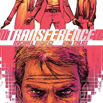 Sci-Action Thriller Transference Moves Your Mind: The Complete Black Mask Solicits For June