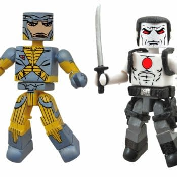 Bloodshot and X-O Manowar Go Mini For Valiant