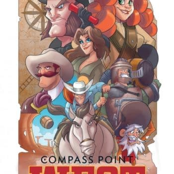 Compass Point: West – The New Comic And Game From IDW And Next Games