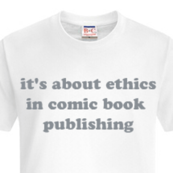 'It's About Ethics In Comic Book Publishing'