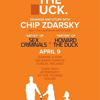 Chip Zdarsky &#8211 Duck Criminals Flying Over Europe