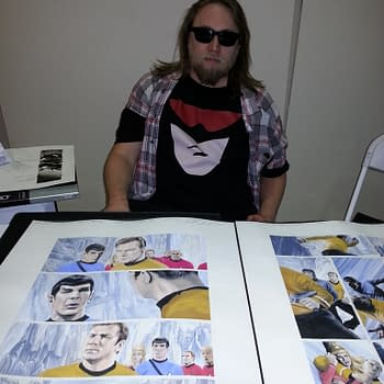 You Will Read This Long Beach Comic Expo Interview With J.K. Woodward &#8211 Resistance Is Futile