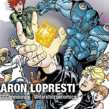 ECCC 15: Dark Horse Announces Aaron Loprestis Power Cubed For September
