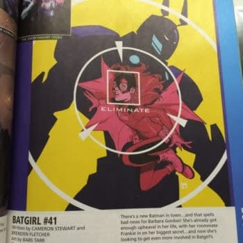 Speculator Corner: Diamond Previews And *That* Batgirl Cover