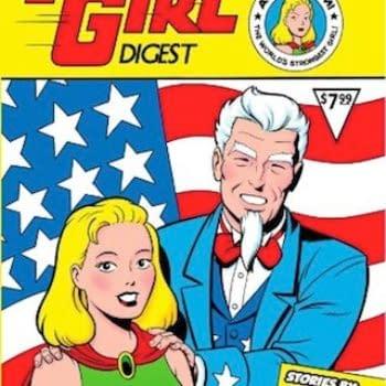 Get A Big Bang Out Of Thunder Girl and Knight Watchman Comics