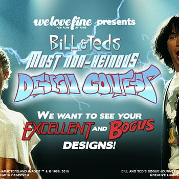 Excellent Its Bill &#038 Teds Art Contest From Boom And WeLoveFine