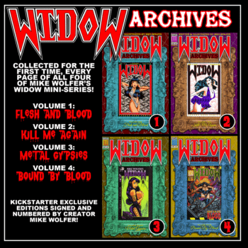 The Return Of Widow – Mike Wolfer On Horror Comics, Kickstarter, And The Devotion Of Fans