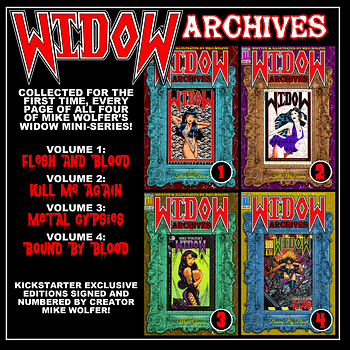 The Return Of Widow – Mike Wolfer On Horror Comics Kickstarter And The Devotion Of Fans
