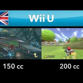Here Is Another Mario Kart 8 200cc Comparion Showing Off The High Speeds
