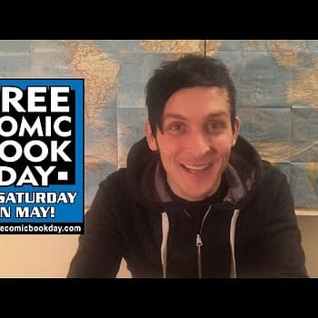 The Penguin Promotes Free Comic Book Day