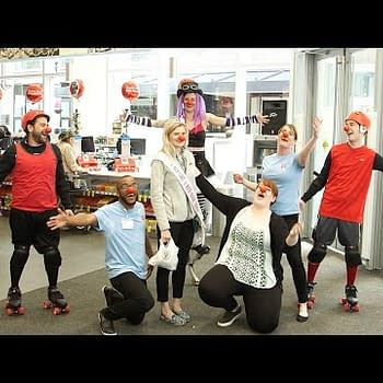 Red Nose Day Comes To Audrey In Walgreens In The USA