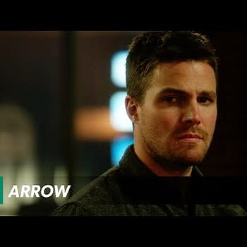 Oliver And The Lazarus Pit &#8211 A Clip From Tonights Arrow