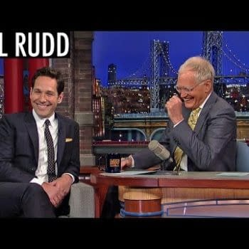 Paul Rudd Shows Clip For Ant-Man On The Late Show