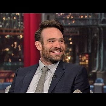 Charlie Cox Visits Letterman To Talk About Marvels Daredevil