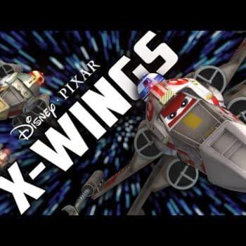 One Last April Fool's Joke… Disney / Pixar's X-Wings