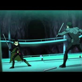 Batman Vs Robin Clip Is Nightwing Vs Robin