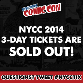 Two Weeks Till You Scream About Getting – Or Not Getting – NYCC Tickets