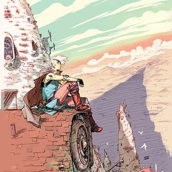 A Murder Mystery In An Apocalyptic Fantasy Future: The Spire Arrives This July
