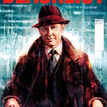 The Blacklist Comic From Titan Gets Release Date And Cover