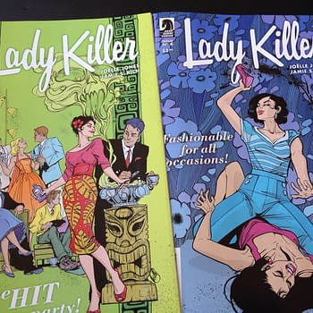 Keeping Cool Undercover – Catching Up On Lady Killer #3 And #4