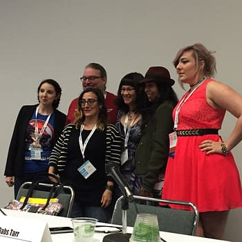WonderCon '15 – Agent Carter, Batgirl, And The Making Of The Modern Super Heroine With Babs Tarr, Jose Molina, Cecil Castellucci, Sarah Kuhn, and Dr. Andrea Letamendi