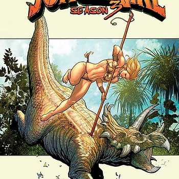 Dinosaurs And Other Beasts With Large Claws Are Hard On Clothes &#8211 Doug Murray Talks Jungle Girl Season 3