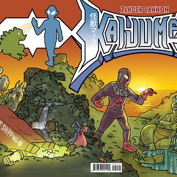 10000 Years To Life &#8211 An Exclusive Preview Of Zander Cannons Kaijumax #2