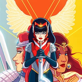 Kate Leth Does Retailer Exclusive Swords Of Sorrow Cover For Beware The Valkyries