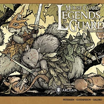 Tales Of Bravery In Mouse Guard: Legends Of The Guard Vol. 3 #2