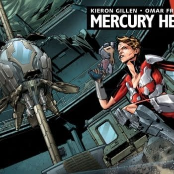 Mercury Heat, The New Sci-Fi Comic From The Writer Of Darth Vader, For July…