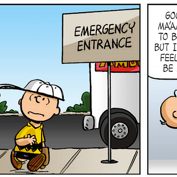 Charlie Brown In The ER Makes For An Emotional Peanuts #27