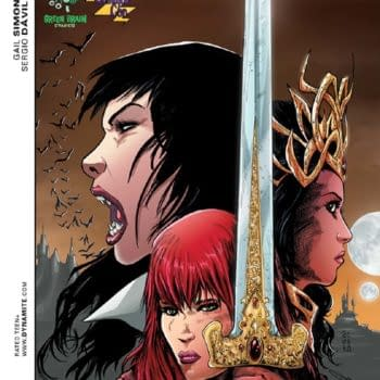 Dave Acosta Process Art For Retailer Exclusive Swords Of Sorrow Cover (Updated)