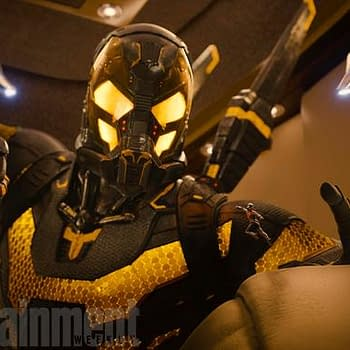 First Photo Of Yellowjacket From Ant-Man
